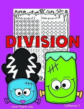 Halloween Division Worksheets