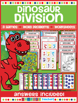 Division Printables, Word Problems and Games!