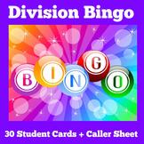 Division Games | 2nd 3rd 4th 5th Grade | BINGO Activity
