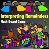 Division Activity: Interpreting Remainders Division Game