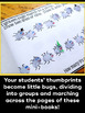 """Division Activity - """"One Hundred Hungry Ants"""" Mini-Books"""