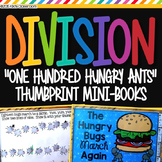"Division Activity - ""One Hundred Hungry Ants"" Mini-Books - Division Practice"