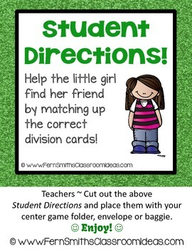 Division Center Game Divide By Seven A Quick and Easy to Prep Center
