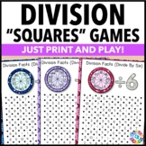 Division Games: 12 Division Facts Games