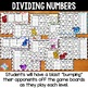 Division Game: 10 Differentiated Dividing Multi-Digit Numb