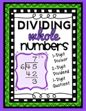 Division: 2-Digit by 1-Digit, 1-Digit Quotient with Remainder, Complete Lesson