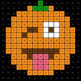 Division 2-Digit by 1-Digit - EMOJI PUMPKIN Mystery Picture - Google Forms