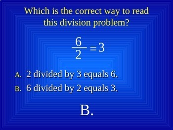 Common Core 4th - Division 2 - Long Division 1 Digit Divisor with Remainder