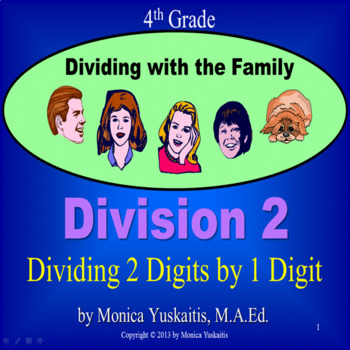 Common Core 4th - Division 2 -  2 Digits Divided by 1 Digit with Remainder