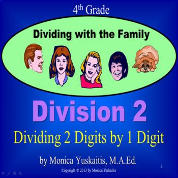 Common Core 4th - Division 2 - Long Division 1 Digit Divis