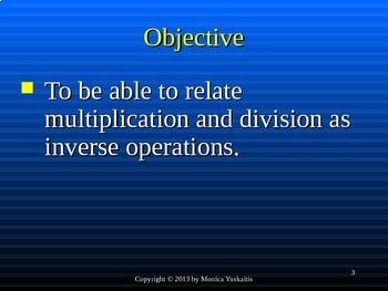 Common Core 3rd - Division 2 - Using the Inverse Operation with Division