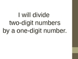 Division - 2 digit divided by a 1 digit number