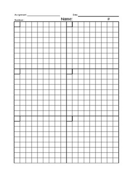 Blank Practice Boxes