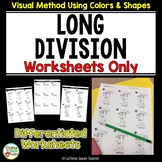 Long Division - Worksheets Only Pack