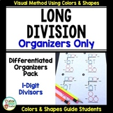 Long Division Differentiated Organizers Only Kit