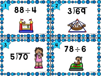 Long Division for Beginners - Differentiated