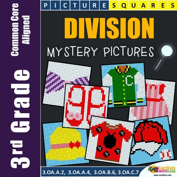 Division Color by Number (Code) {3.OA.A.2, 3.OA.A.4, 3.OA.B6}