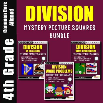 Math Sub Plans 4th Grade Division Worksheets, Mystery Pictures Coloring Sheets