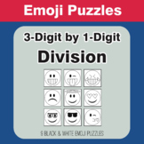 Division: 3-Digit by 1-Digit - Emoji Picture Puzzles