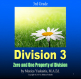 3rd Grade Division 3 - Using the Zero & One Property Powerpoint Lesson