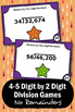 Long Division Practice, 5th Grade Math Review Games, Division Task Cards