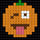 Division 4-Digit by 1-Digit - EMOJI PUMPKIN Mystery Picture - Google Forms