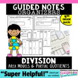Division 4th Grade: Area Models and Partial Quotients: Templates 4.NBT.B.6