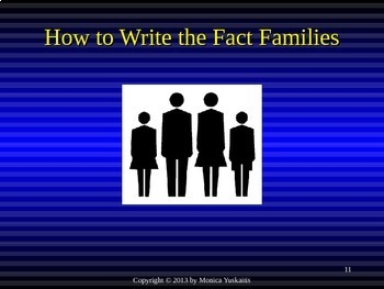 Common Core 3rd - Division 6 - Writing Fact Families of 4 & Review