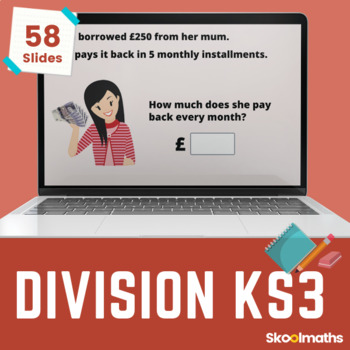Division - 6th grade, year 7, key stage 3