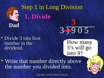 Common Core 4th - Division 9 - Zeros in the Quotient (4 Digits by 1 Digit)