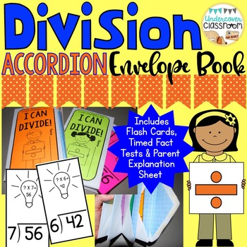 Division Accordion Envelope Book: Fact Fluency Kit