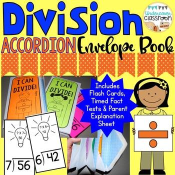 Division Accordion Envelope Book: Fact Fluency Kit