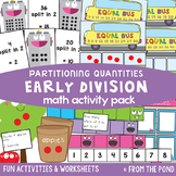 Division Activities - Math Activity Pack