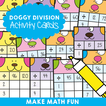 Division: Doggy Activity Cards
