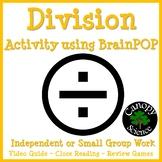 Division Activity using BrainPOP - Free