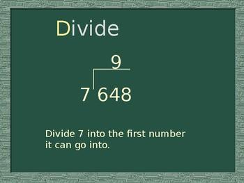 Division Algorithm