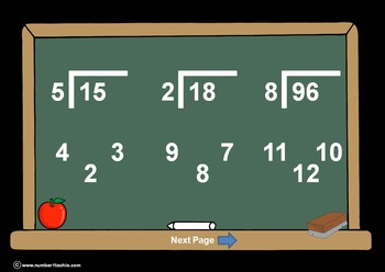 Division (All Levels) PowerPoints + Matching Worksheets &