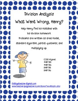 Division Analysis:  What Went Wrong, Henry?