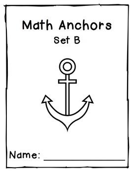Division Anchors Set B: 1 and 2 Divisors