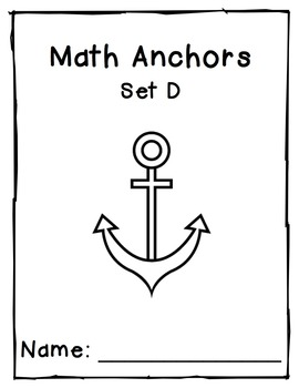 Division Anchors Set D: 1 to 5 Divisors