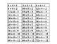 Math---Division self-correcting answer sheet 1÷ 1 = 1 to 144÷12 = 12