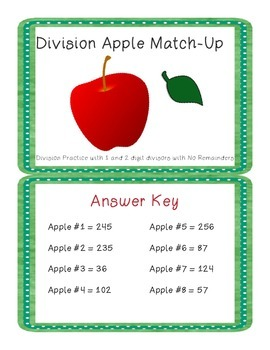 Division Apple Match-Up