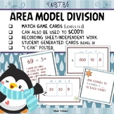 Division Area Model Match Game and Scoot 4.NBT.B6 Partial