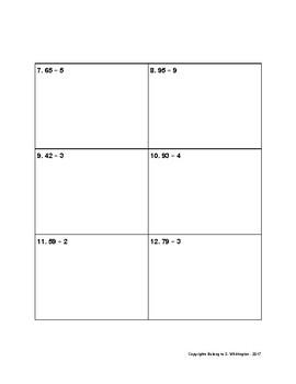 Division:  Area Models, Distributive Property, Long Division
