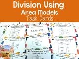Division Area Models Task Cards