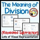 Division Arrays (Repeated Subtraction) - Meaning of Division Grades 2-3
