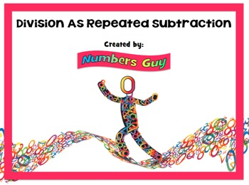 Division As Repeated Subtraction (Part of Division Unit)