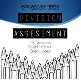 Division Assessment 4th Grade STAAR Math TEKS