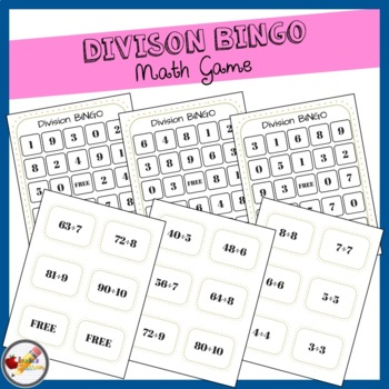 Division BINGO (Boards and Cards)
