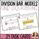 Division Bar Model Task Cards